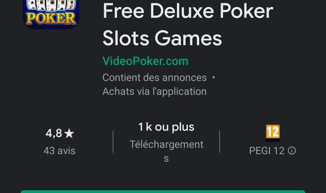 Spin Poker : Casino free deluxe poker slots games