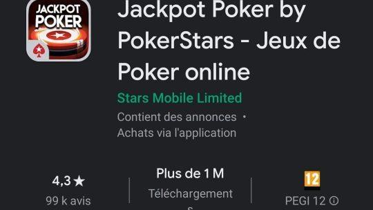 Jackpot Poker by PokerStars : Jeux de poker en ligne