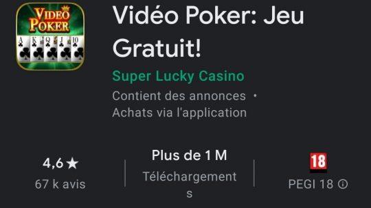 Vidéo Poker : le jeu de poker gratuit par excellence ?
