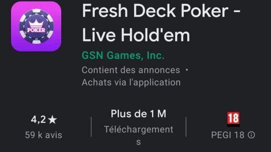 Fresh Deck Poker : le seul jeu de poker avec des bitmojis ?