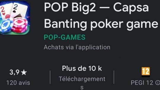 POP Big2 : Le mélange parfait avec les jeux de casino ?