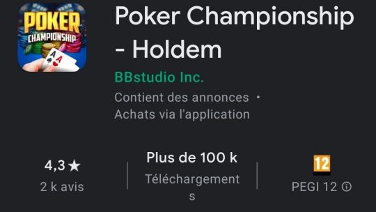 Poker-Championship : l'application parfaite pour les joueurs de tournois